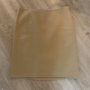 Talbots knee length pencil skirt